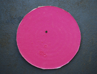 Pink Disc with Screw