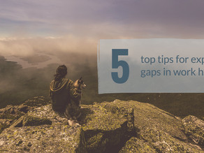 Why the Work Gaps? Top Five Rules to Explain