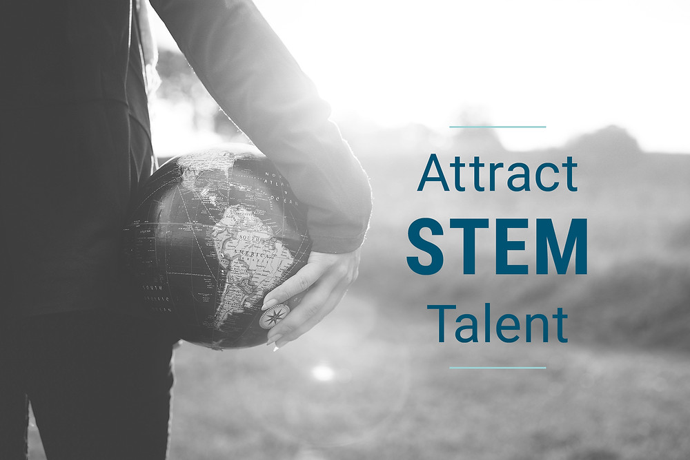 Attract STEM talent for your business.