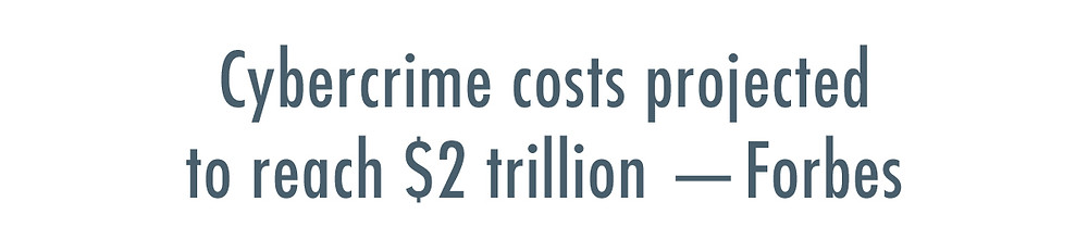 Cybercrime costs projected to reach $2 trillion