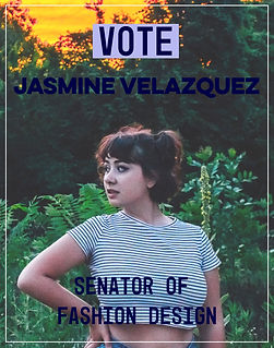 campaign poster new - JASMINE VELAZQUEZ.