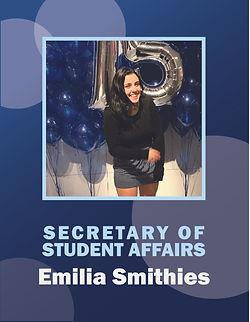 Smithies_Candidate Poster - EMILIA SMITH