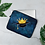 Thumbnail: Dark Blue Watercolor Laptop Sleeve