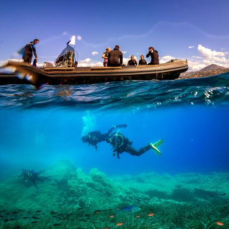 Les sites de plongée à Calvi