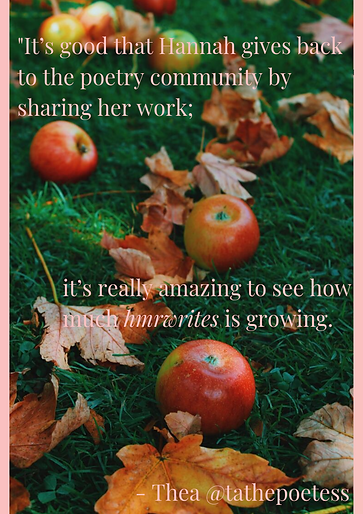 Apples and leaves with hmrwrites review.