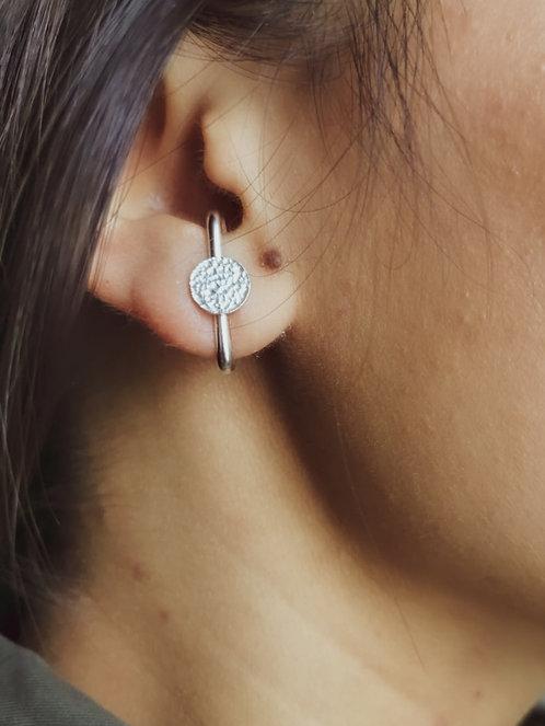 Barres d'oreilles PUCE argent925