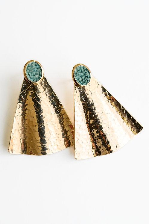 Boucles Ondine turquoise