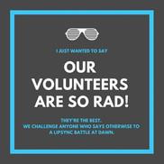 #Volunteers make the world go 'round. We