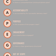 Find the scapegoat - infographic