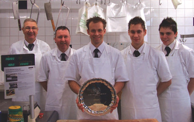 J Heath & Sons butcher of the year at the Sussex Food and Drink Awards