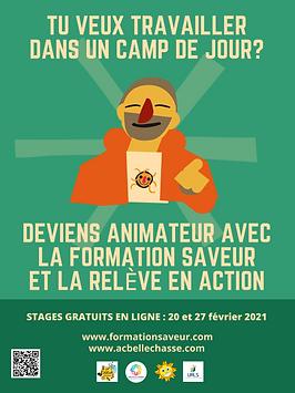 SAVEUR_la relève en action_affiche final