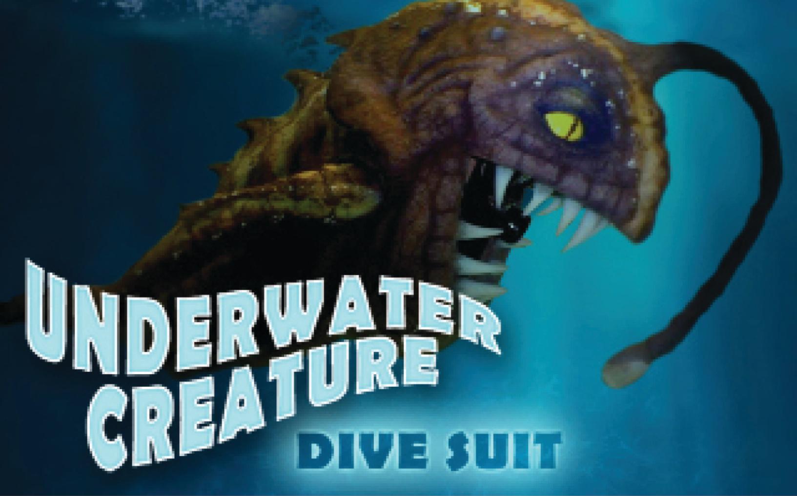 Underwater Creature SCUBA suit