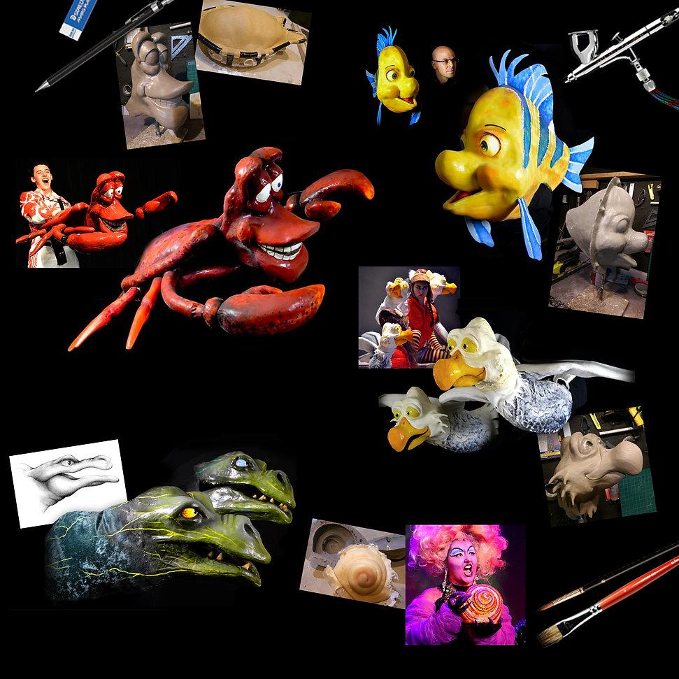 Project Artboard Little Mermaid website.