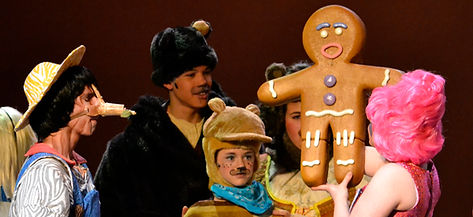 Gingy from Shrek the Musical