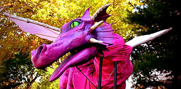 GDT Dragon from Shrek the Musical