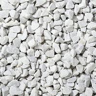 graviers décoratif marble blanc pur brillant allée décoration jardin extérieur modern maison
