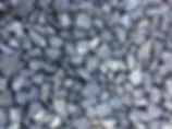 gravier décoratif noir bsalte allée de jardin maison moderne  vrac big bag kg premier prix pas cher