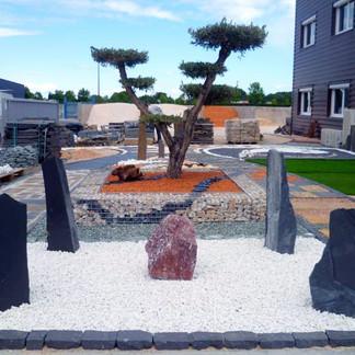 marchand de graviers graviers décoratif galet pelouse synthétique jardin extérieur