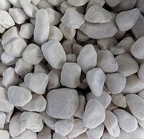 galets roulé bolo marbre blanc pur