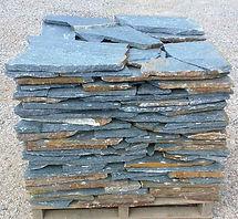 llose bleue pierre nturelle perpignan elne dallage jardin décoration