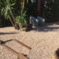 jardin extérieur elne pepignan idées moderne graviers pelouse synthétique2225801694403580_73917144452793