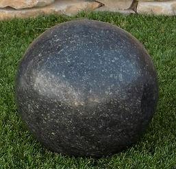 boule granit noire