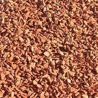 brique pillé cassée orange gravier décoratif blanc ruge noir gris orange vert allée jardin maison modern sac big bag vrac