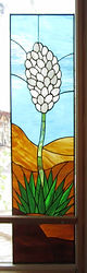 Stained glass yucca
