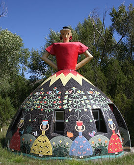 Dome Lady by Beverley Magennis