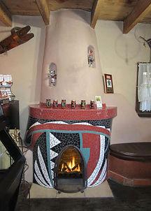 Indian Pot Fireplace at Church Street Cafe