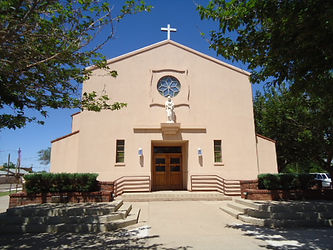 St. Anne's Parish stained glass repair by ABQ Art Glass