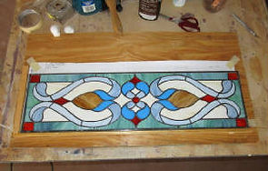 Victorian stained glass by ABQ Art Glass