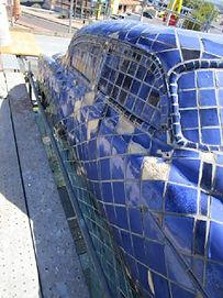 Cruising San Mateo Restoration by ABQ Art Glass