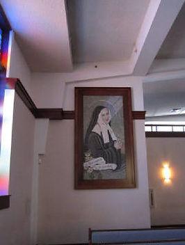 St. Bernadette mosaic restoration by ABQ art Glass