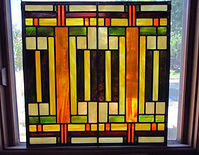 Frank Lloyd Wright stained glass repair