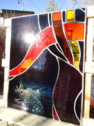 Tapestry of Life Restoration by ABQ Art Glass