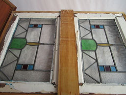 Modern stained glass repair