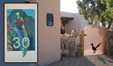 Resplendent Quetzal mosaic address