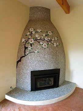 Magnolia Branch Mosaic