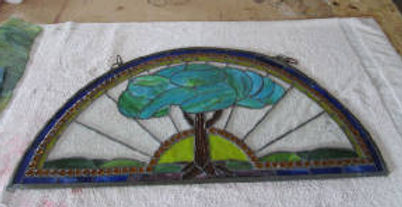 Tree stained glass repair