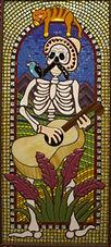 Mariachi Man 3 mosaic by Erin Magennis