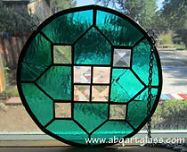 Bevel stained glass repair