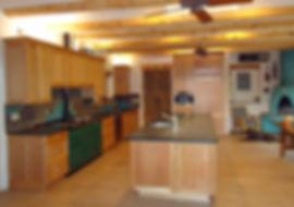 Mosaic tile kitchen backsplash by ABQ Art Glass