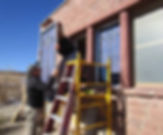 Good Shepherd Mission stained glass repair by ABQ Art Glass
