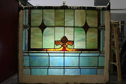 Victorian stained glass repair