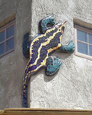 Luke's Lizard by ABQ Art Glss
