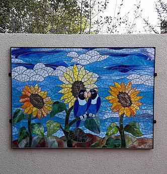 Mosaic Lovebirds