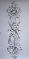 rubbing.jpgBeveled glass front door panel repair by ABQ Art Glass