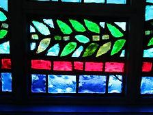 First Congregational Church slab glass repair.