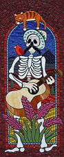 Mariachi Man 2 mosaic by Erin Magennis